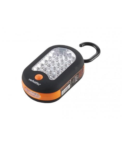 Latarka 24+3 LED owalna