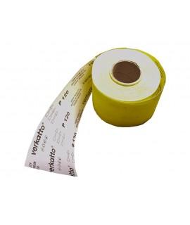 Papier ścierny żółty w rolce